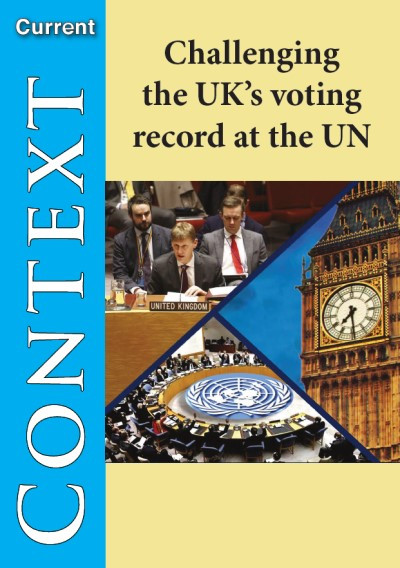Challenging UK`s Voting Record at the UN